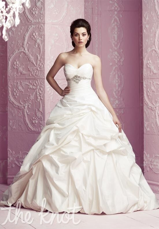 Paloma Blanca 4255 Ball Gown Wedding Dress