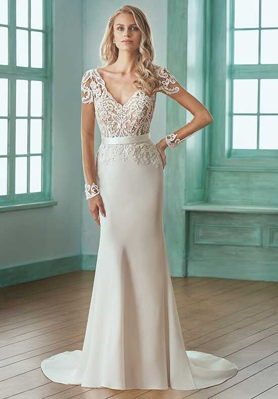 Jasmine Collection F201003 Mermaid Wedding Dress
