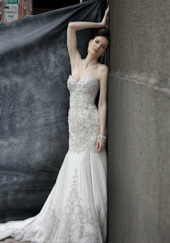Stephen Yearick KSY4 Sheath Wedding Dress
