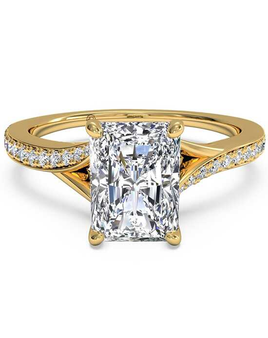 Ritani Elegant Radiant Cut Engagement Ring