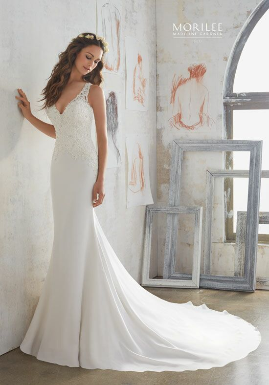Morilee by Madeline Gardner/Blu 5508 A-Line Wedding Dress