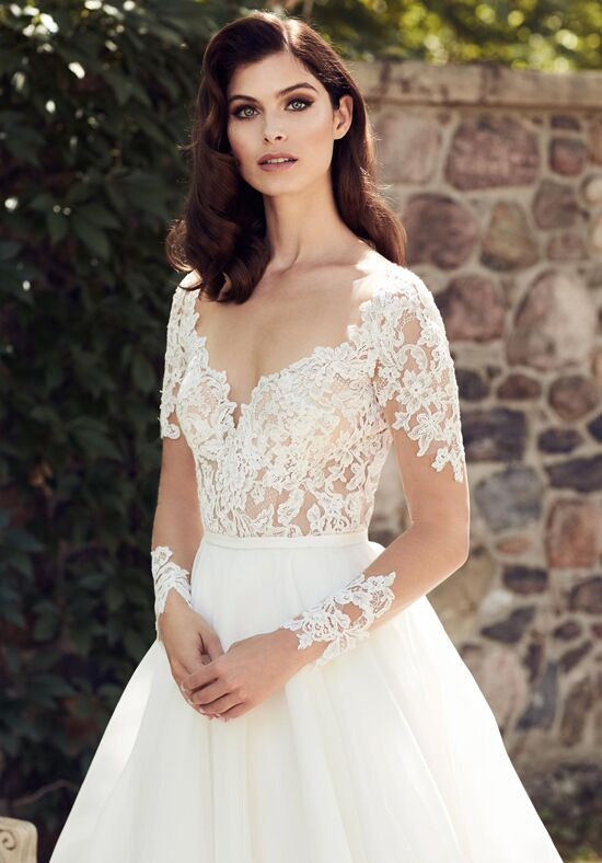 paloma blanca 4744 wedding dress the knot