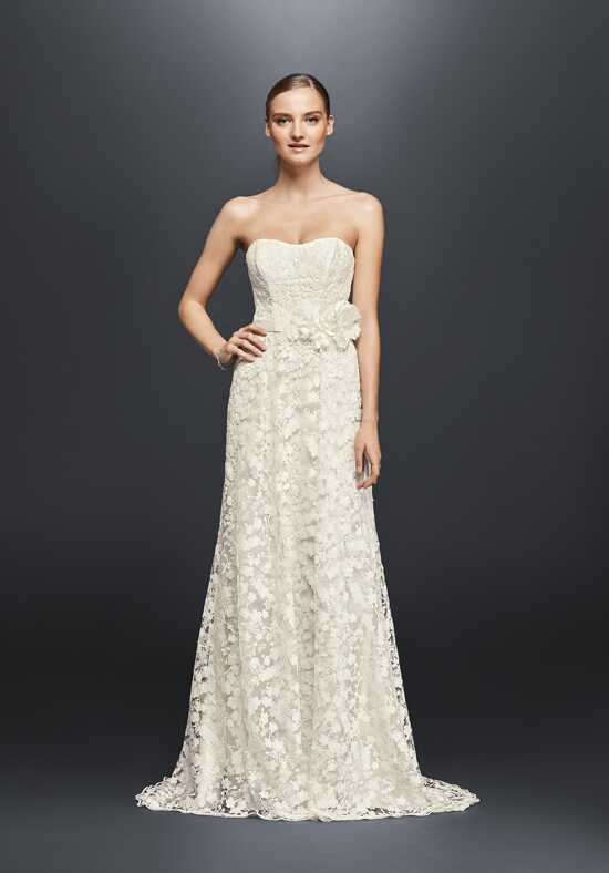 David's Bridal Cheers Cynthia Rowley Style CR341703 Sheath Wedding Dress