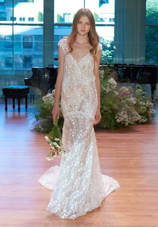 Monique Lhuillier Francine Mermaid Wedding Dress