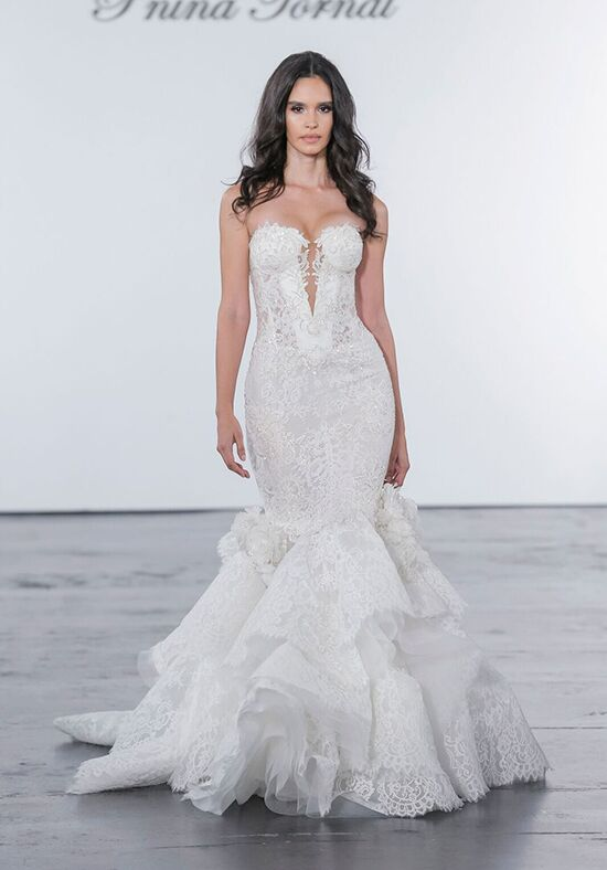 Pnina Tornai for Kleinfeld 4628 Mermaid Wedding Dress