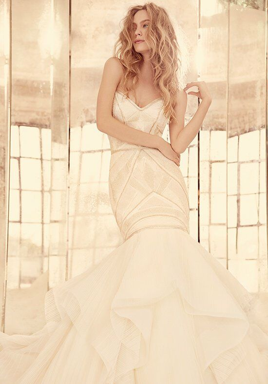 Hayley Paige Yoko / Style 6561 Mermaid Wedding Dress