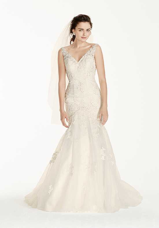 David's Bridal Jewel Style V3761 Mermaid Wedding Dress