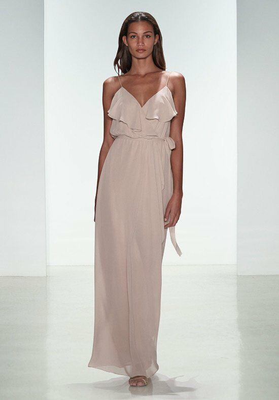 Nouvelle Amsale Bridesmaids N319 V-Neck Bridesmaid Dress