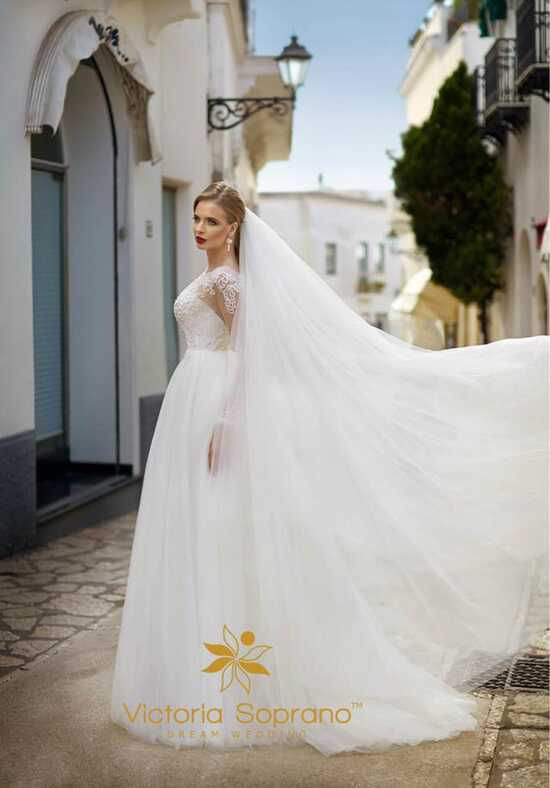 Capri Diana A-Line Wedding Dress