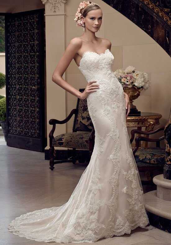Casablanca Bridal 2201 Sheath Wedding Dress