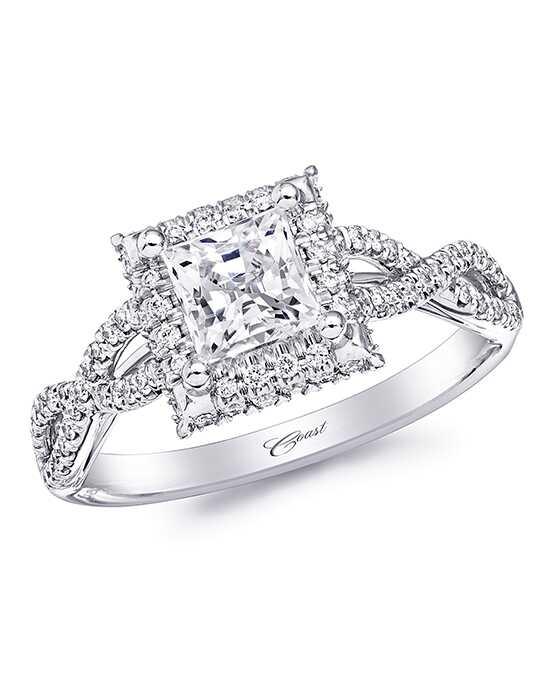 coast diamond - Wedding Rings Princess Cut