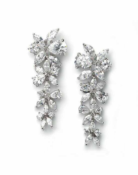 USABride Delilah CZ Drop Earrings JE-1128 Wedding Earring photo