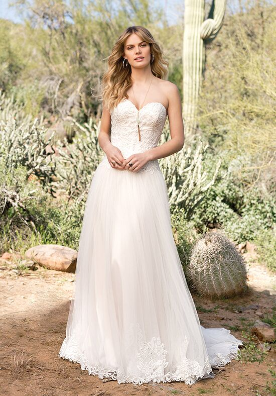 Lillian West 6526 A-Line Wedding Dress
