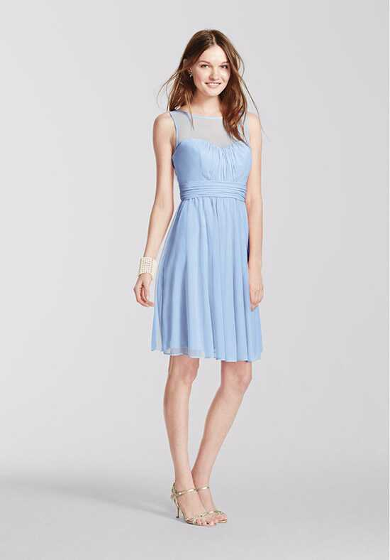 David's Bridal Collection David's Bridal Style F15701 Illusion Bridesmaid Dress