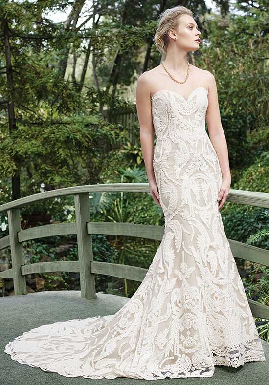 Casablanca Bridal 2265 Zinnia Sheath Wedding Dress