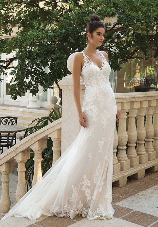 Sincerity Bridal 44093 Sheath Wedding Dress