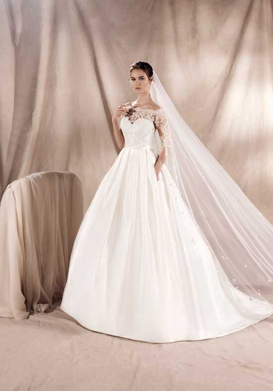 WHITE ONE YAIZA A-Line Wedding Dress