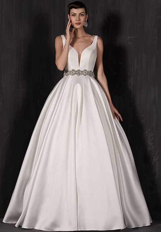 Calla Blanche 16127 Paulette Ball Gown Wedding Dress
