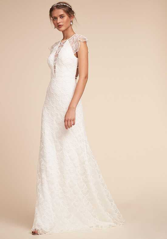 BHLDN Cara Gown Sheath Wedding Dress
