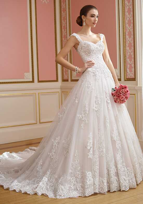 David Tutera for Mon Cheri 217210 Nellie Ball Gown Wedding Dress