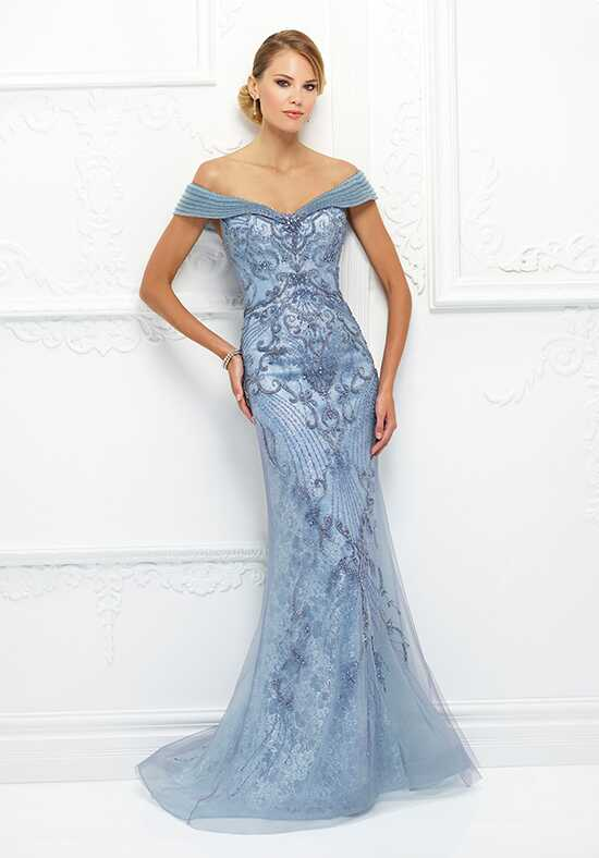 Ivonne D. 118D08 Blue Mother Of The Bride Dress
