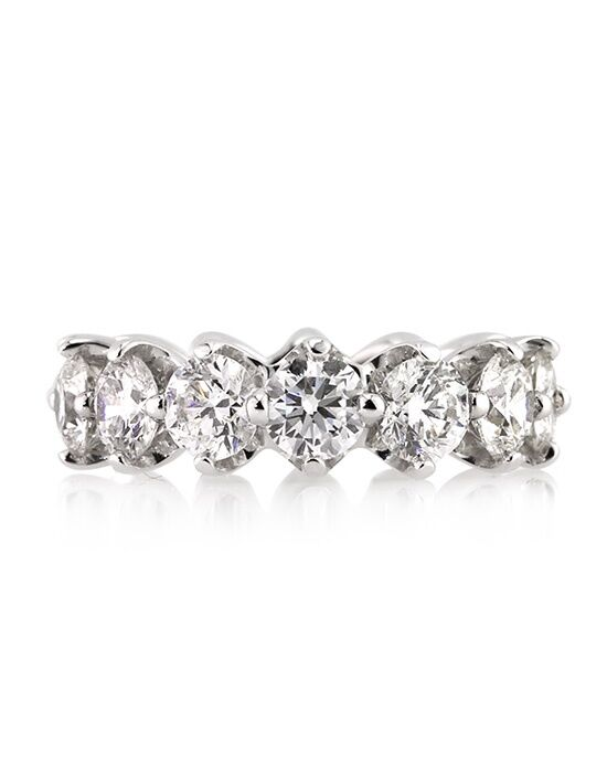 Mark Broumand 550ct Round Brilliant Cut Diamond Eternity Band