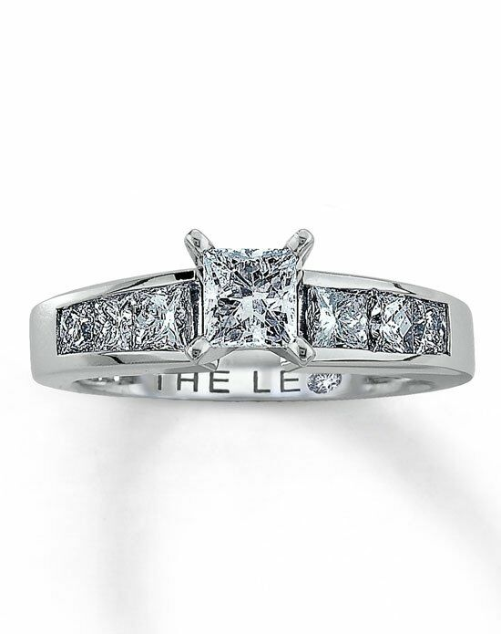 The Leo Diamond Diamond Engagement Ring 1 12 ct tw PrincessCut