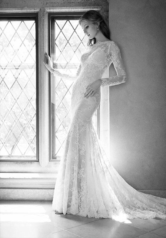 Martina Liana 700 Sheath Wedding Dress