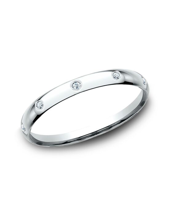 Benchmark LCF120DW White Gold Wedding Ring