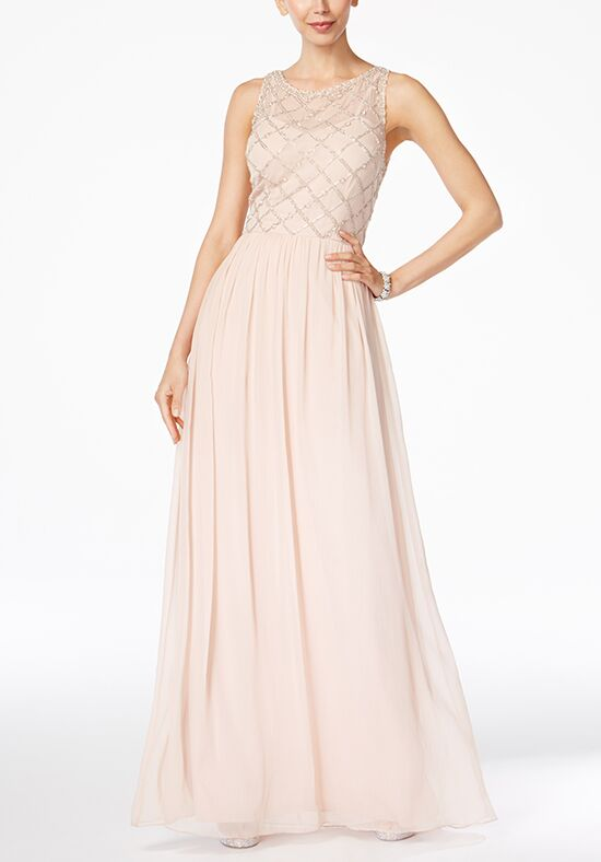 Adrianna Papell Adrianna Papell Beaded A-Line Gown Bridesmaid Dress ...