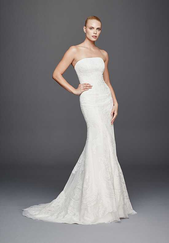 Truly Zac Posen at David's Bridal Truly Zac Posen Style ZP341636 Mermaid Wedding Dress
