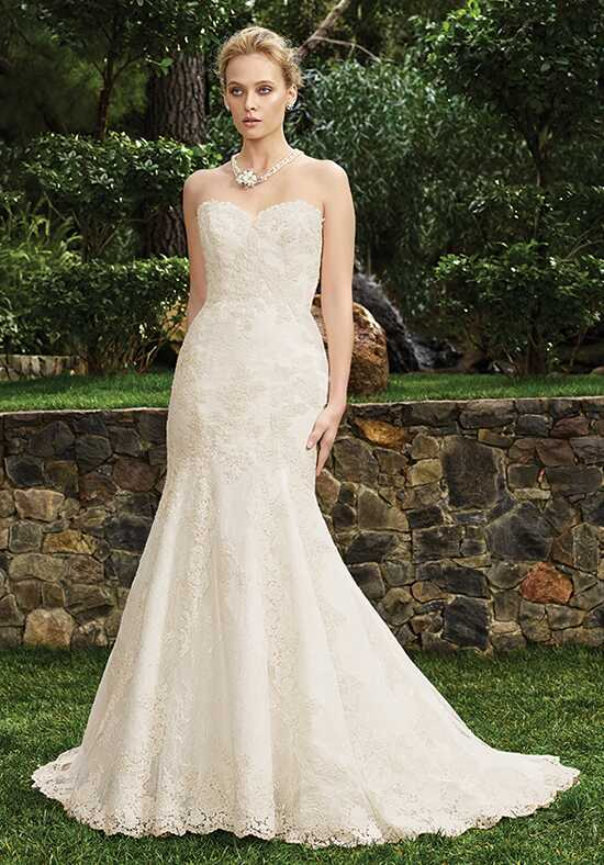 Casablanca Bridal 2262 Chrysanthemum Mermaid Wedding Dress