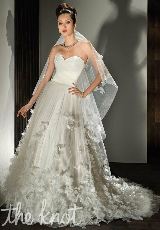 Demetrios 533 A-Line Wedding Dress