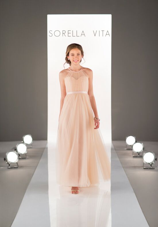 Sorella Vita J4007 Illusion Bridesmaid Dress