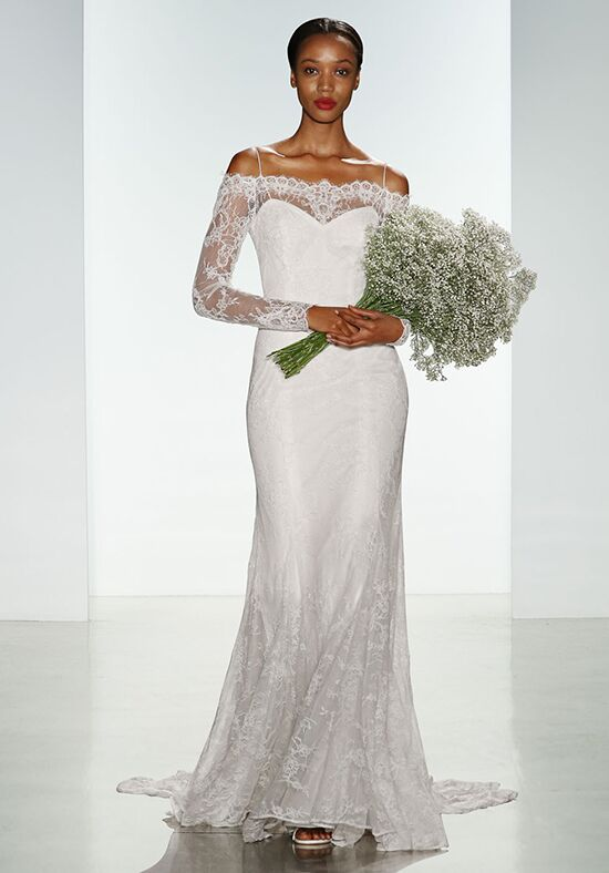 Christos Tilly Sheath Wedding Dress