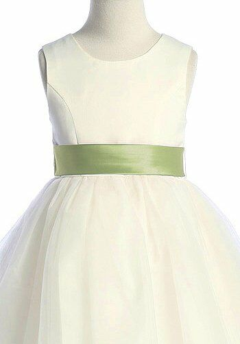 Pink princess d2772 flower girl dress the knot pink princess d2772 green flower girl dress mightylinksfo