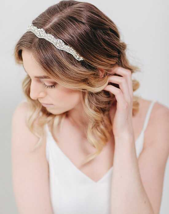 Davie & Chiyo | Hair Accessories & Veils Pippa Headband Gold, Ivory, Silver Headband