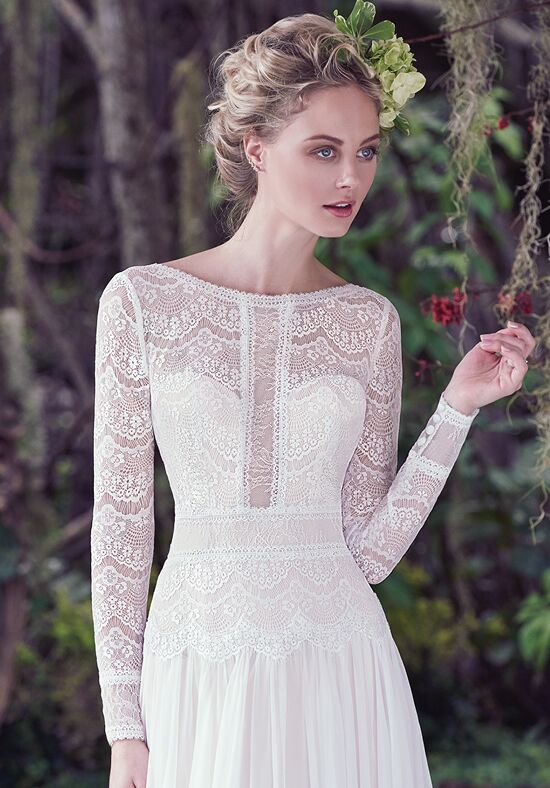 Maggie Sottero Deirdre A-Line Wedding Dress
