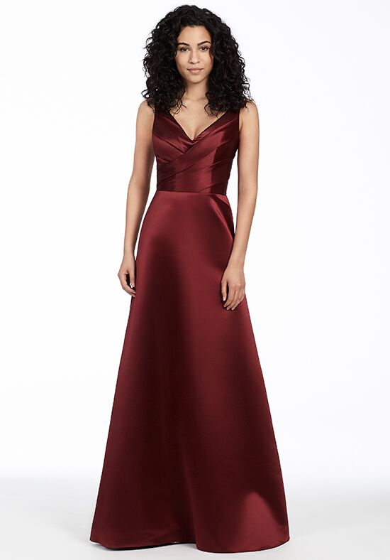 Hayley Paige Occasions 5753 V-Neck Bridesmaid Dress