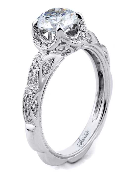 Supreme Jewelry SJ154215 Engagement Ring photo