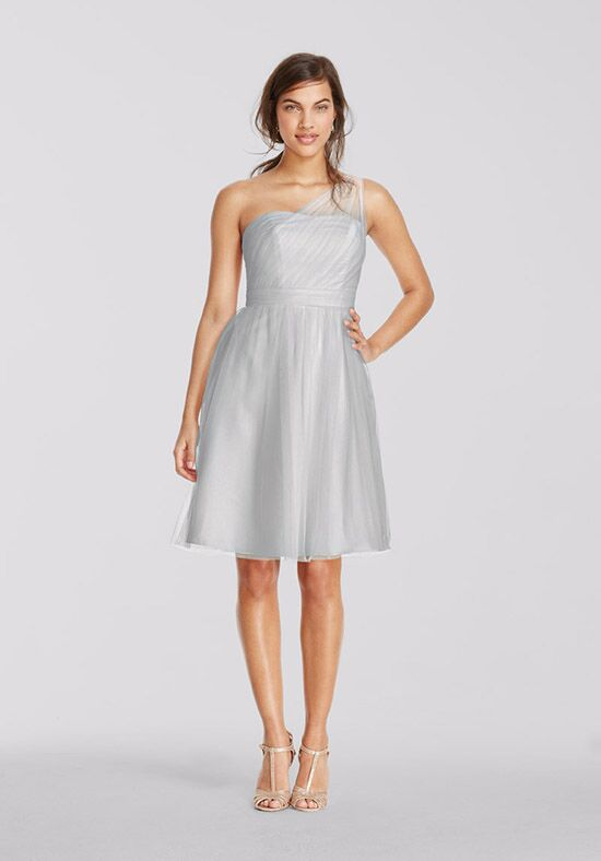 David's Bridal Collection David's Bridal Style F15208 One Shoulder Bridesmaid Dress