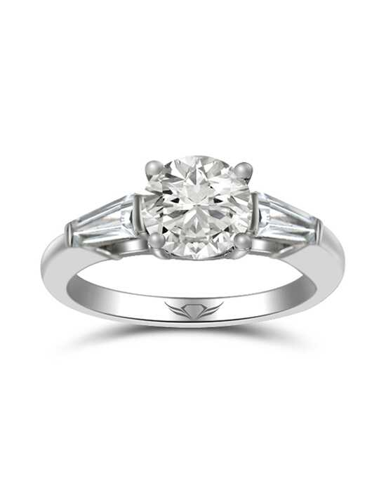 "Say ""Yes!"" in Platinum Flyerfit by Martin Flyer-CT04XSTBPL-C-7.0RD Engagement Ring photo"
