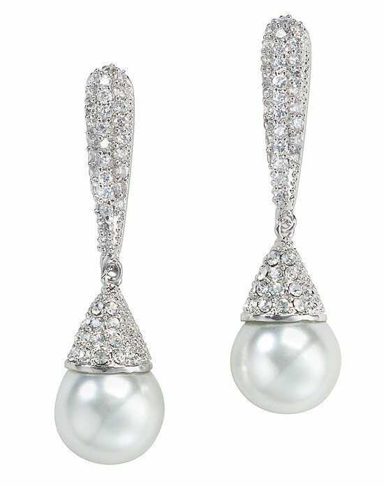 Anna Bellagio Jada Dramatic Drop Earrings Wedding Earring photo