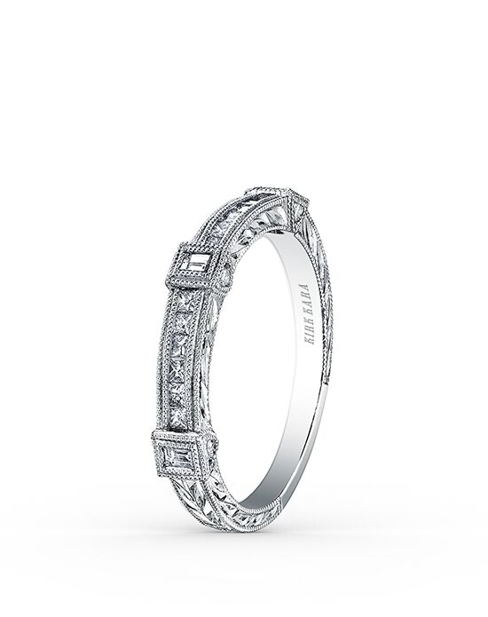 Kirk Kara Carmella Collection SS6757-B White Gold Wedding Ring
