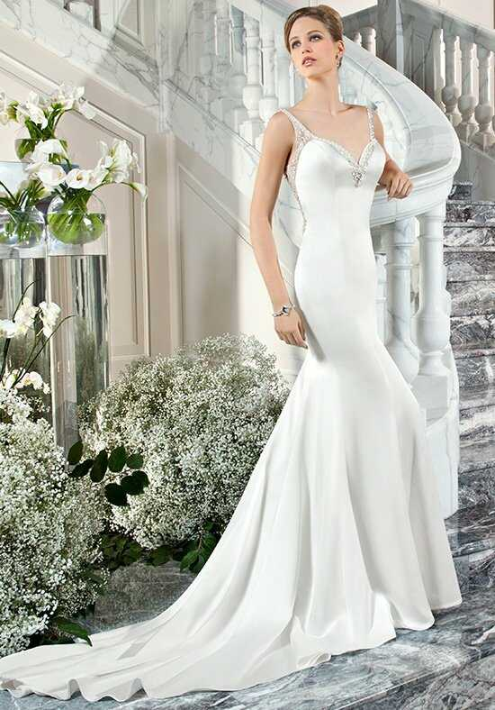 Demetrios C218 Sheath Wedding Dress