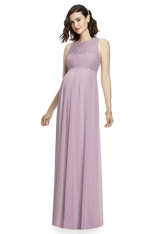 Dessy Collection M428 V-Neck Bridesmaid Dress