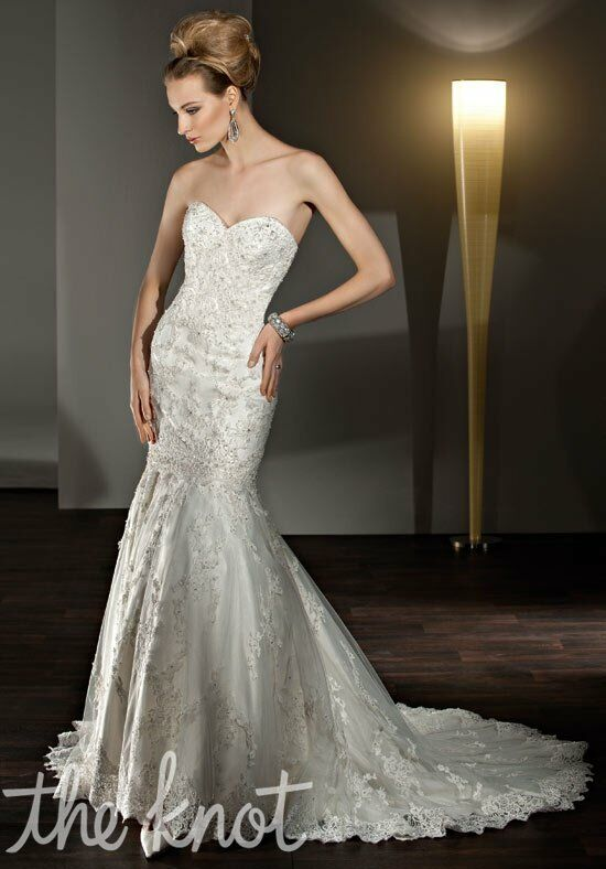 Demetrios 2855 Mermaid Wedding Dress