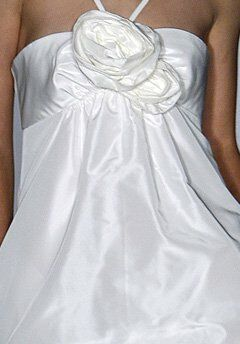 Amsale Presents Little White Dress L102 Lexi Sheath Wedding Dress