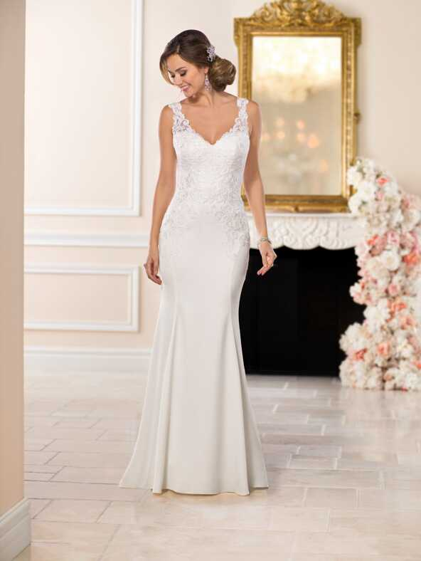 Stella York 6514 Sheath Wedding Dress