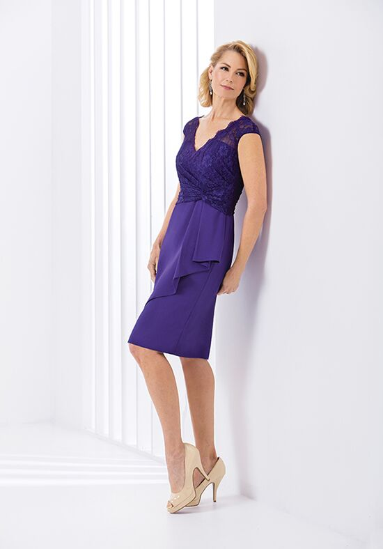 Jasmine Black Label M180057 Purple Mother Of The Bride Dress